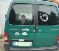 Autocollant VAP de Jean-Yves à Virton (Belgique)