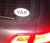 Autocollant VAP de David