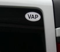 Autocollant VAP de Sébastien
