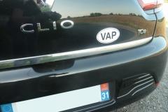 Autocollant VAP de François - Haute Garonne